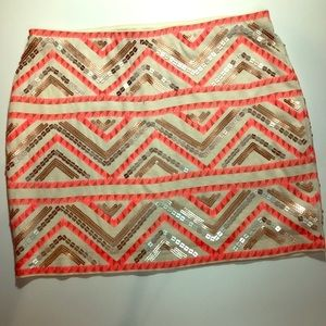 Express skirt with slip